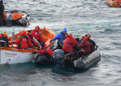 Rescue in Antartica